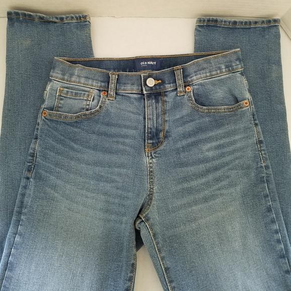 Old Navy Boys Regular Blue Jeans Size 3T Denim Blue Jeans Straight Leg Pre-Owned